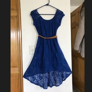 Beautiful blue lace dress for any occasion!
